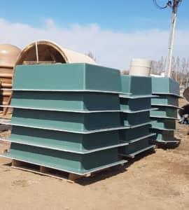 Fiberglass Box Pads