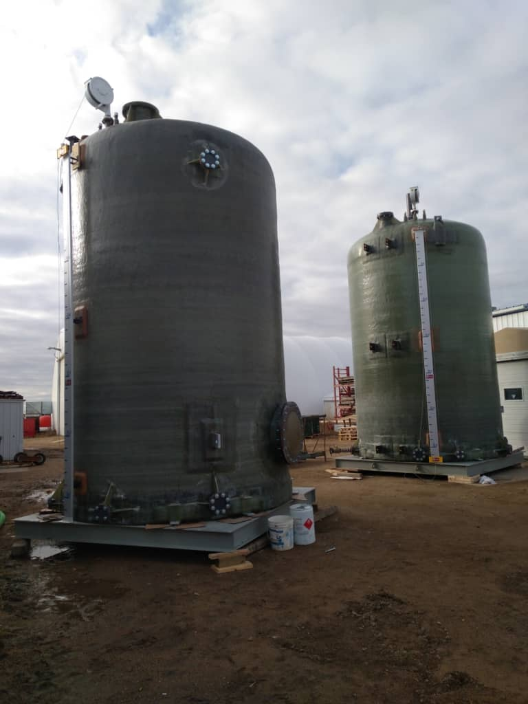 Effluent Caustic Tank / Fresh Caustic Tank