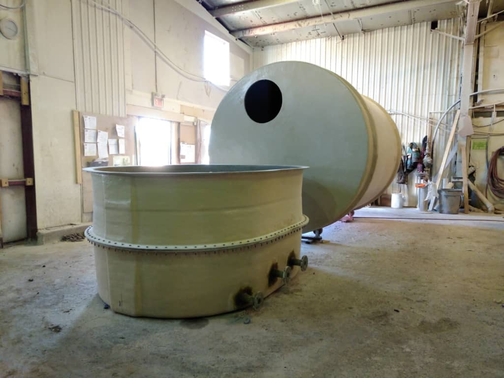 Sectional WTP Process Tanks