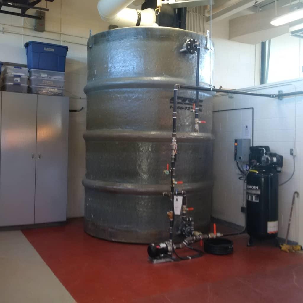 Fire Suppression Foam Storage