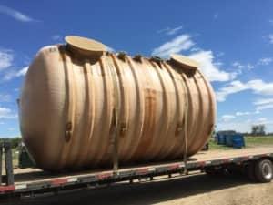 BX8000-Sewage – 10′ Diameter Tank