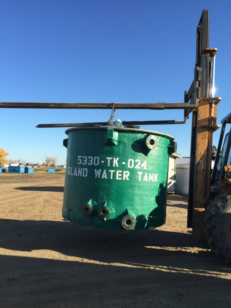 Gland Water Tank