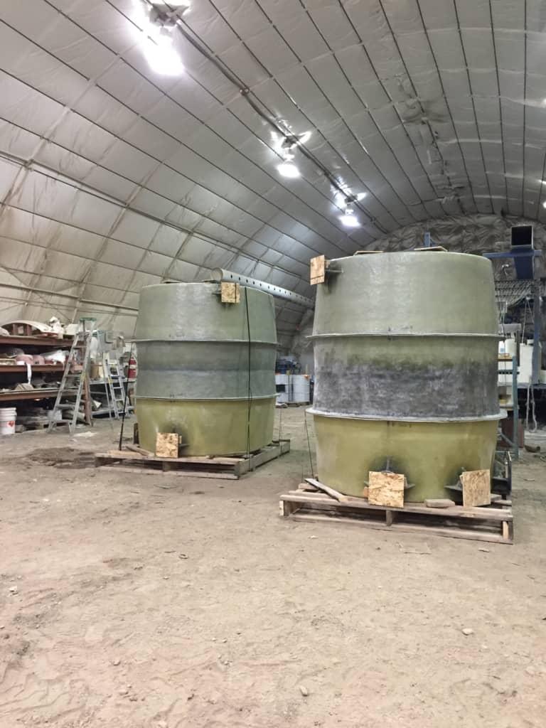 Sulphuric Acid Storage (36% Concentration)