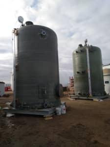 Effluent Caustic Tank / Fresh Caustic Tank