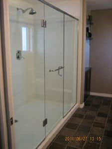 Shower Base and Walls