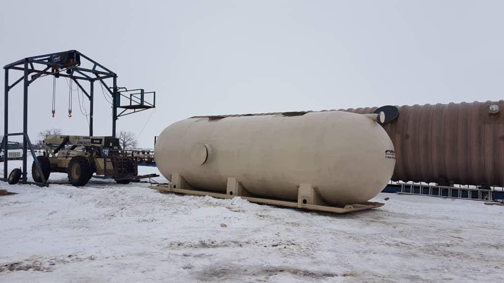 Above-Ground Wastewater Storage Tanks