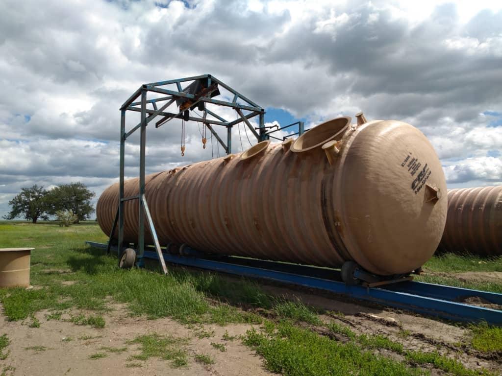 Fiberglass Reinforced Plastic Wastewater Tanks